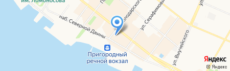 Pikabolo на карте Архангельска