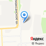 Магазин автозапчастей для грузовых автомобилей на карте Архангельска