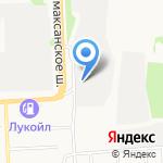 Автоваз на карте Архангельска