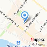LTB на карте Архангельска