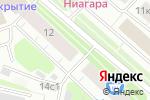 Схема проезда до компании УАН Сервис в Архангельске