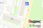 Схема проезда до компании Помор в Архангельске