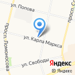 PUDRA на карте Архангельска