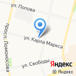 Добрый дом на карте Архангельска