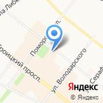 Архангельские реставрационные мастерские на карте Архангельска