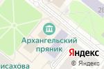 Схема проезда до компании Мир на ладони в Архангельске