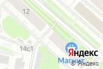 Схема проезда до компании Троицкий дом в Архангельске