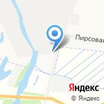 Исправительная колония №1 на карте Архангельска