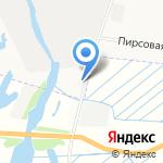Краюшка на карте Архангельска