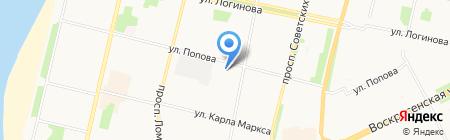 Волшебница на карте Архангельска