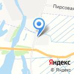 Гибрид-А на карте Архангельска
