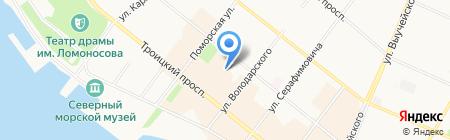 Deseo на карте Архангельска