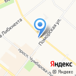 Hindi-cafe на карте Архангельска