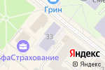 Схема проезда до компании Детская школа народных ремесел в Архангельске