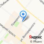 Архангельский городской туристский информационный центр на карте Архангельска
