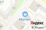 Схема проезда до компании Коллаж в Архангельске