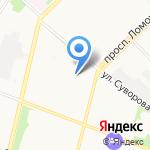 Ат компани-тур на карте Архангельска