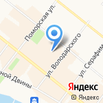 Formoza на карте Архангельска