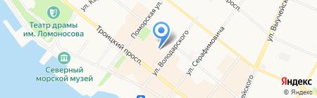 Твой стиль на карте Архангельска