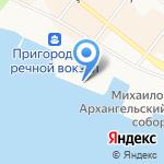 АРКТИЧЕСКАЯ ДИРЕКЦИЯ ПО ТЕХНИЧЕСКОМУ ОБЕСПЕЧЕНИЮ НАДЗОРА НА МОРЕ на карте Архангельска
