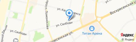 Столичное АВД на карте Архангельска