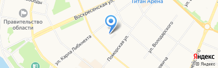 Банкомат РоссельхозБанк на карте Архангельска