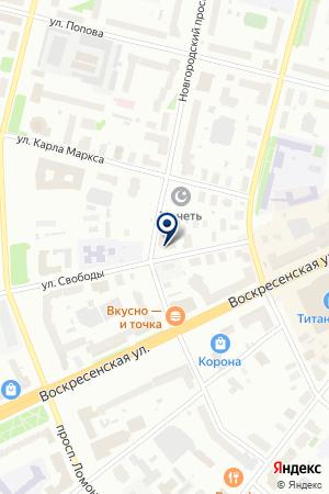 3DELO на карте Архангельска