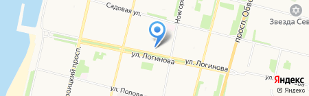АрхБланк на карте Архангельска