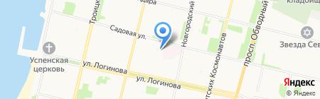 ОКИНАВА на карте Архангельска
