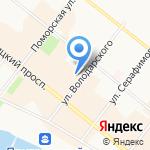 Центр изучения общественного мнения на карте Архангельска