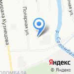 Ангелы дорог на карте Архангельска