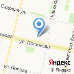 Офис-Принт на карте Архангельска