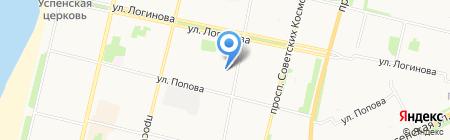 Штрих на карте Архангельска