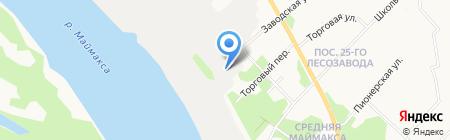 Архбиоэнерго на карте Архангельска