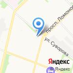 Влади на карте Архангельска