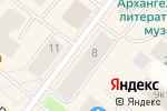Схема проезда до компании ВЛЕТО в Архангельске