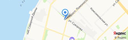 Портал на карте Архангельска