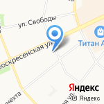 Формат на карте Архангельска