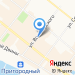 КосмоЗоо на карте Архангельска