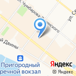 Raffinad на карте Архангельска