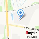 Автогант на карте Архангельска