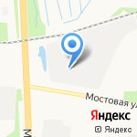 Магнум-сервис на карте Архангельска