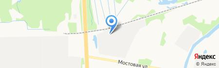 Метракс на карте Архангельска
