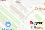 Схема проезда до компании Дельта в Архангельске