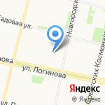 Оникс на карте Архангельска