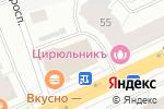 Схема проезда до компании Транс-М в Архангельске