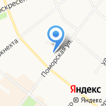 Домашний очаг на карте Архангельска