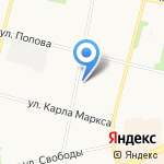 БухгалтерЪ на карте Архангельска