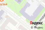 Схема проезда до компании Архангельский техникум строительства и экономики в Архангельске