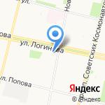 Успенский на карте Архангельска